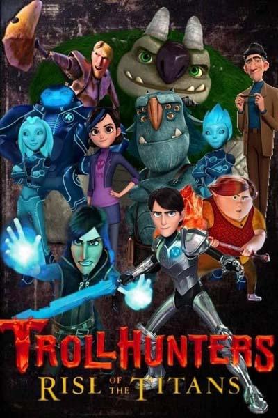 Охотники на троллей: Восстание титанов (2021) постер