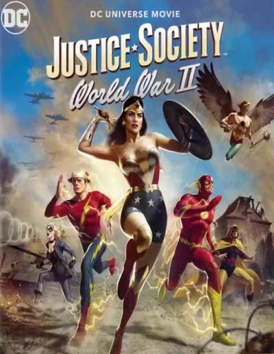 Общество справедливости: Вторая мировая война (2021) постер
