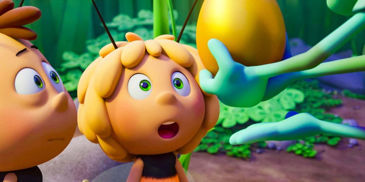 """Мультфильм """"Пчелка Майя: Медовый движ"""" (2021) Постер"""