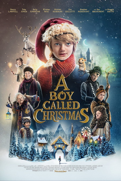 Мальчик по имени Рождество (2021) постер