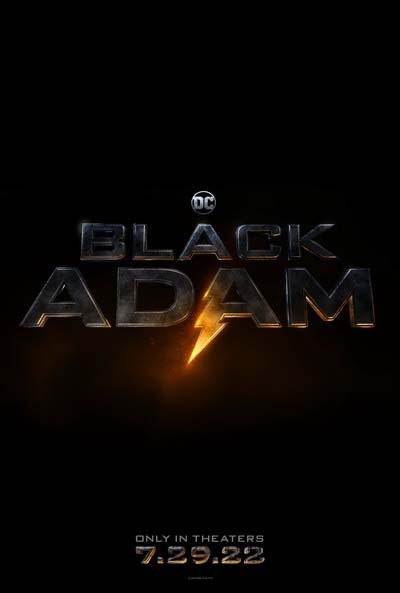 Чёрный Адам (2022) постер