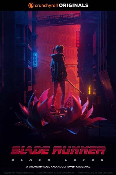 Бегущий по лезвию: Чёрный лотос (2021) постер