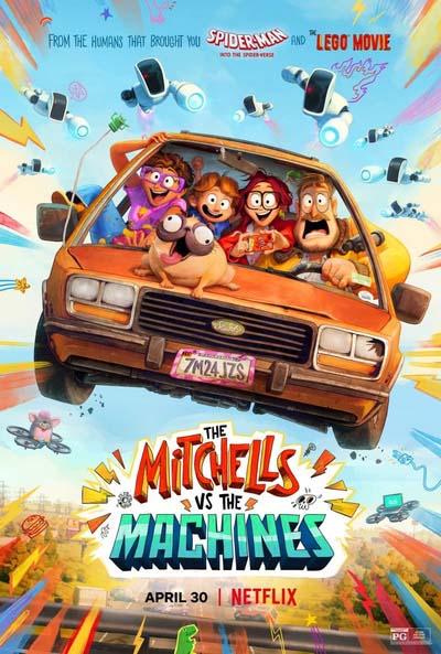 Митчеллы против машин (2021) постер