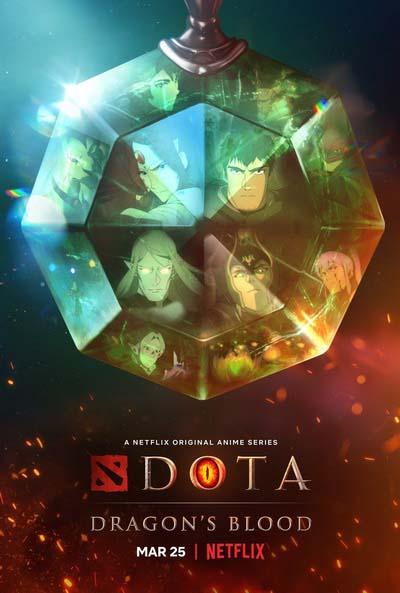 DOTA: Кровь дракона (2021) постер