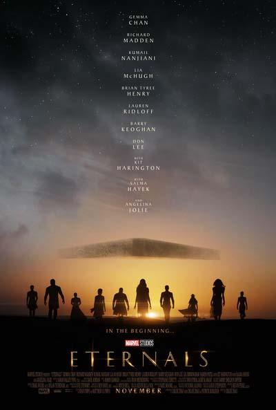 Вечные (2021) постер