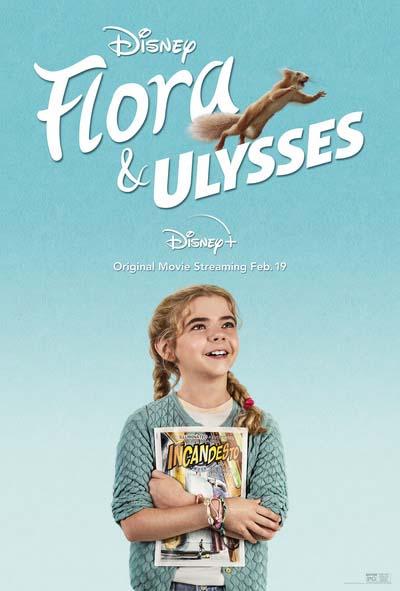 Флора и Улисс (2021) постер