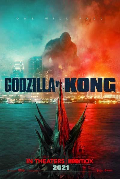 Годзилла против Конга (2021) постер