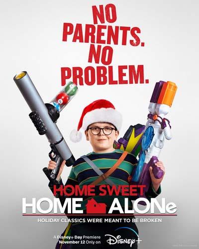 Один дома (2021) постер