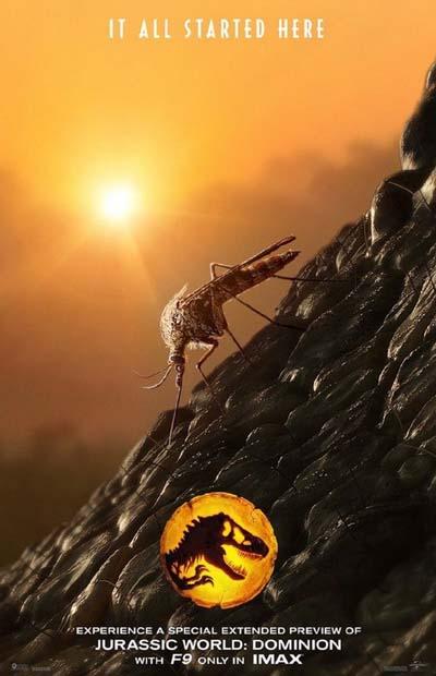 Мир Юрского периода 3: Господство (2022) постер