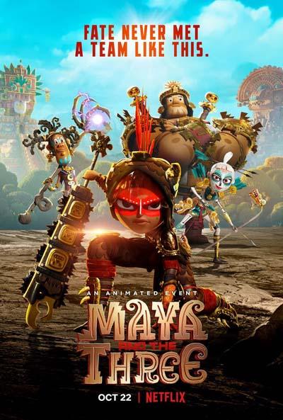 Майя и три воина (2021) постер