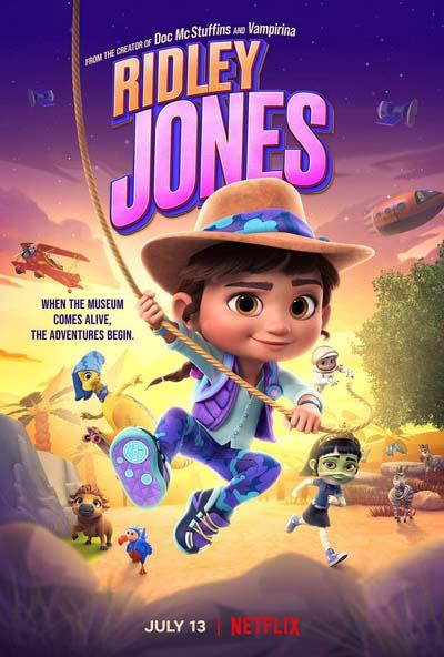 Ридли Джонс (2021) постер
