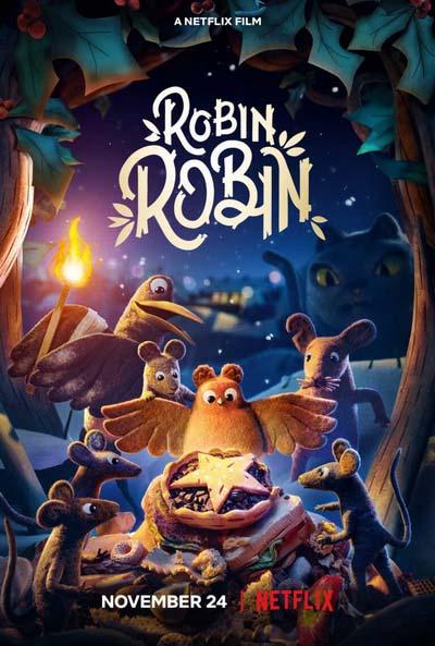 Робин (2021) постер