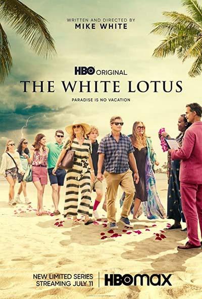 Белый лотос (2021) постер