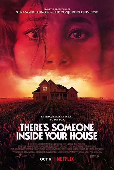 В твоем доме кто-то есть (2021) постер